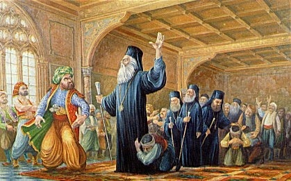 09 Ιουλίου 1821: Ο Αρχιεπίσκοπος Κυπριανός περνά στην Αθανασία ...